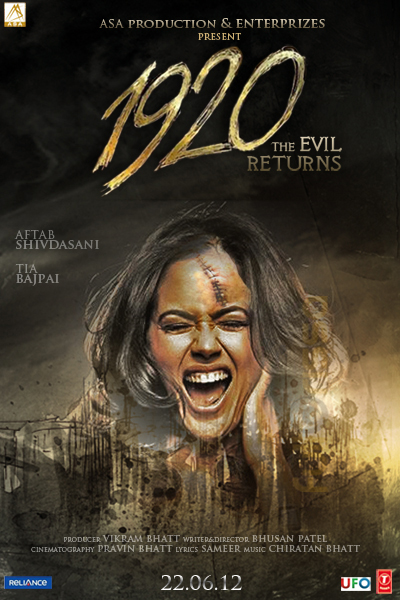 1920 - Evil Returns Trailer