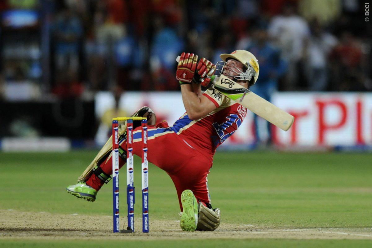 AB de Villiers & His Acrobatic Batting Style - Indiamarks