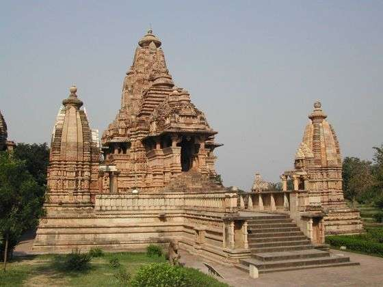 Ancient Temples in India, khajuraho temple