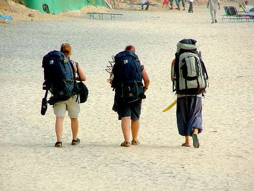 Backpacking across India