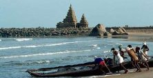 Beaches in Tamil Nadu, Mahabalipuram beach