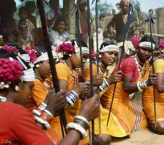 Gond Tribe of India