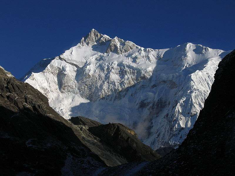 Highest mountain peaks of India