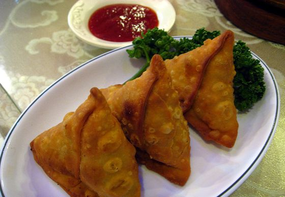Indian finger food, Samosa