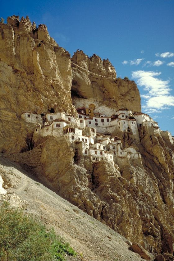 Offbeat Travel Destinations in India, Phugtal Monastery