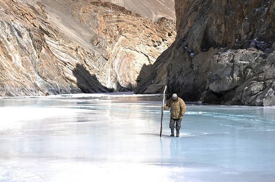 Offbeat Travel Destinations in India, Chadar Trek