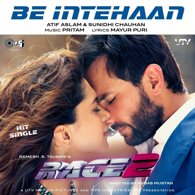 Race2's Be Intehaan Song