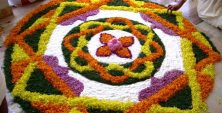 Rangoli Flower Designs and Patterns