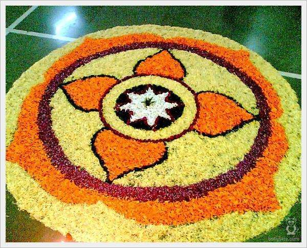 Rangoli Flower Designs and Patterns3
