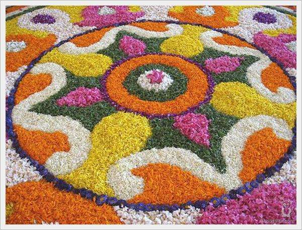 Rangoli Flower Designs and Patterns4