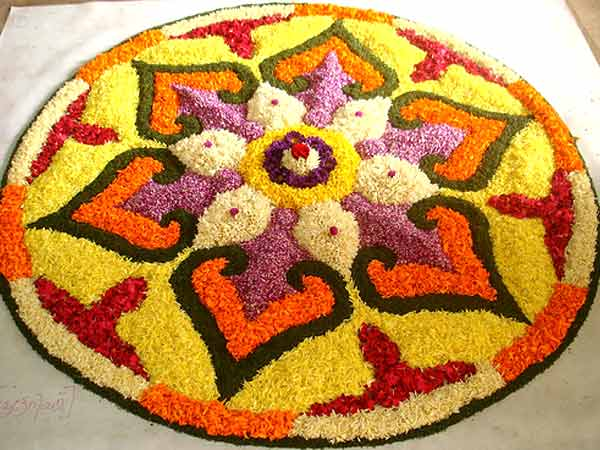 Rangoli Flower Designs and Patterns7