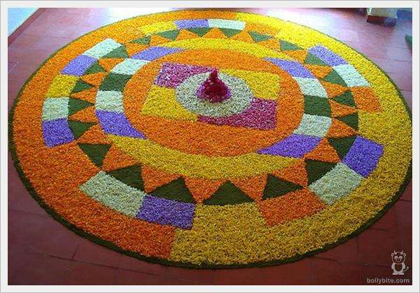 Rangoli Flower Designs and Patterns8