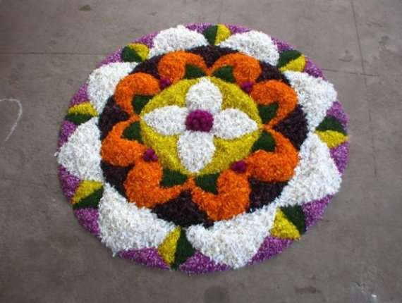 Rangoli Flower Designs and Patterns9
