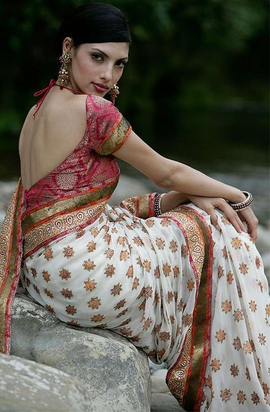Wedding Fashion The Latest Choli And Saree Blouse Styles