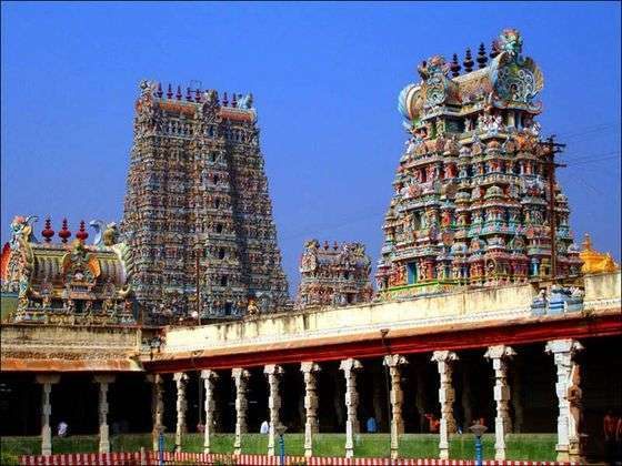 Temples in India, Meenakshi temple