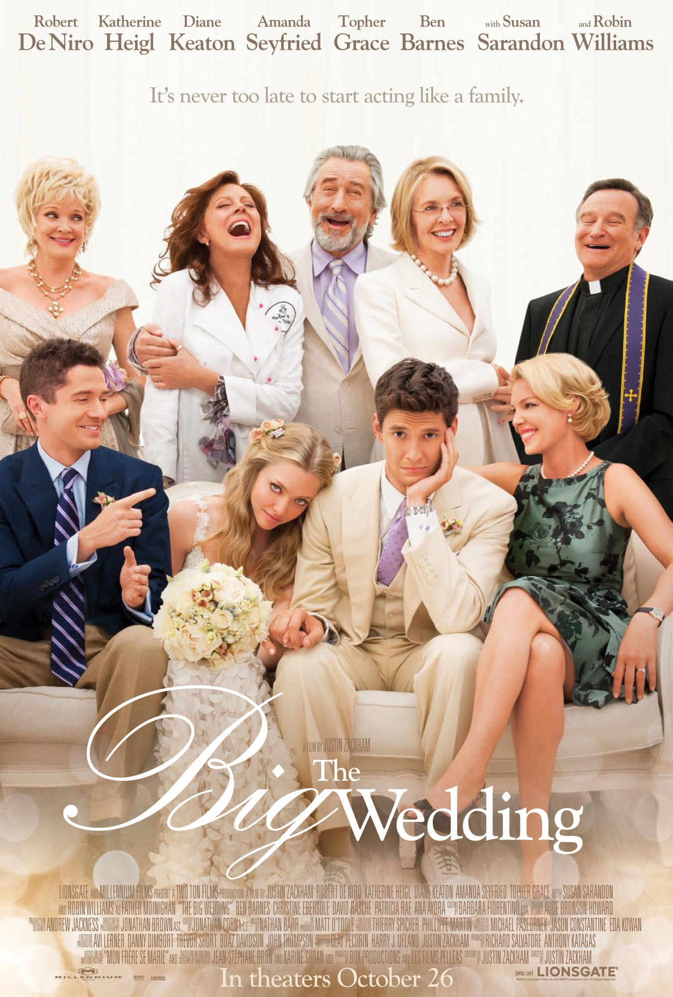 The Big Wedding Trailer