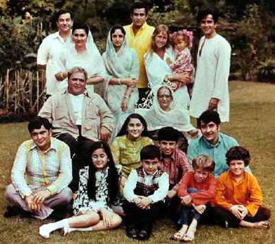 prithviraj kapoor family tree