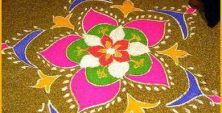 Your Search for Beautiful Rangoli Design Ends Here