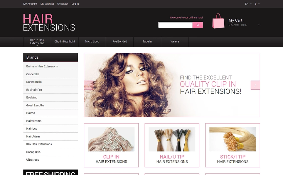 Beauty Store Responsive Magento Theme