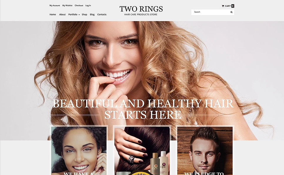 WooCommerce Theme for Beauty Store