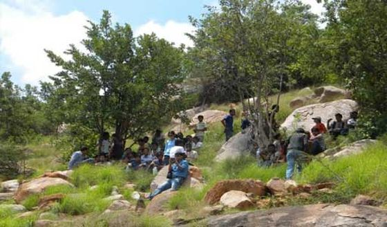 camping places near Bangalore, Makalidurga