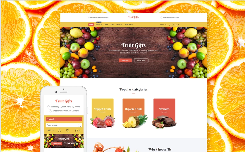 Shopify Food Store Themes