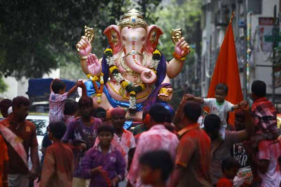 ganesh festival photos