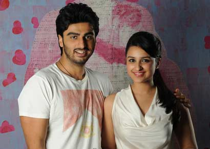 Image result for Arjun Kapoor and Parineeti Chopra