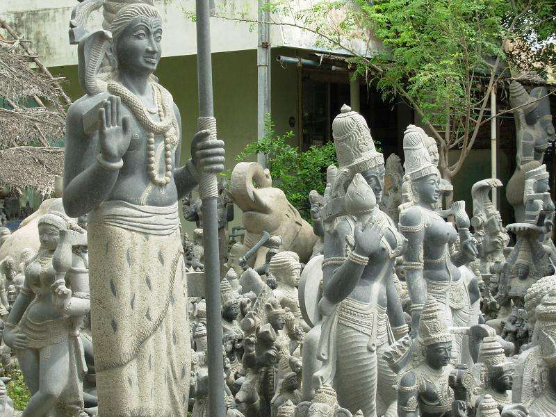 sculptures of mahabalipuram