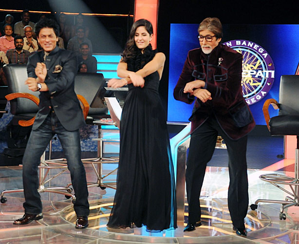 srk Kat and big b in gangnam style