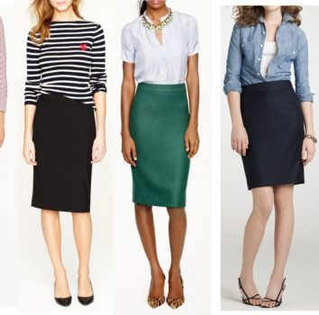 what is a pencil skirt